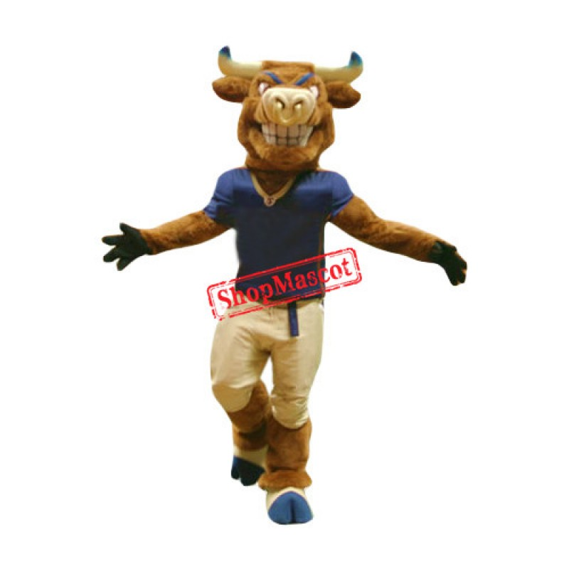 Power Sport Bull Mascot Costume