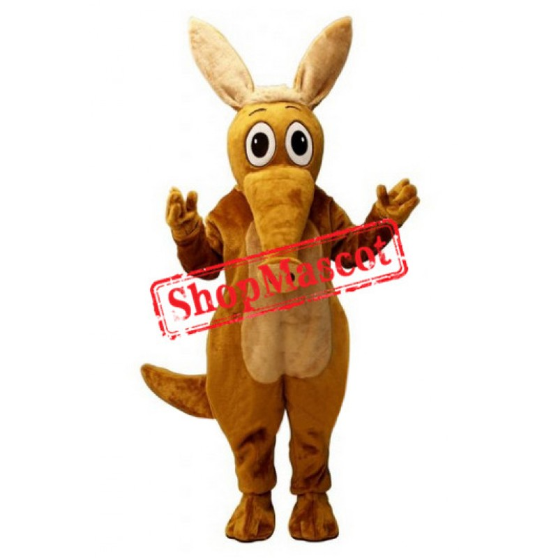 Superb Aardvark Mascot Costume