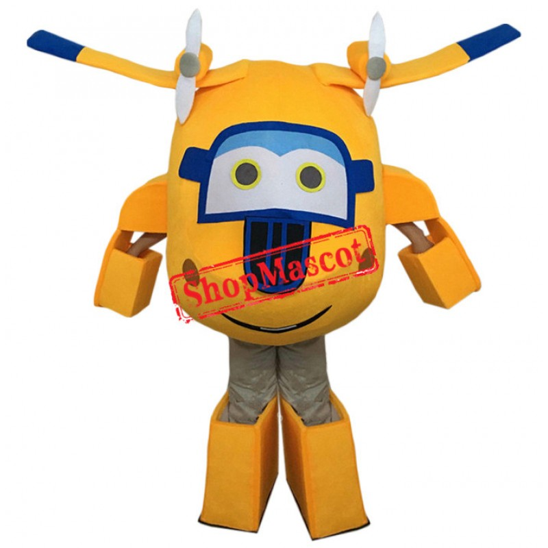 Super Wings Donnie Mascot Costume