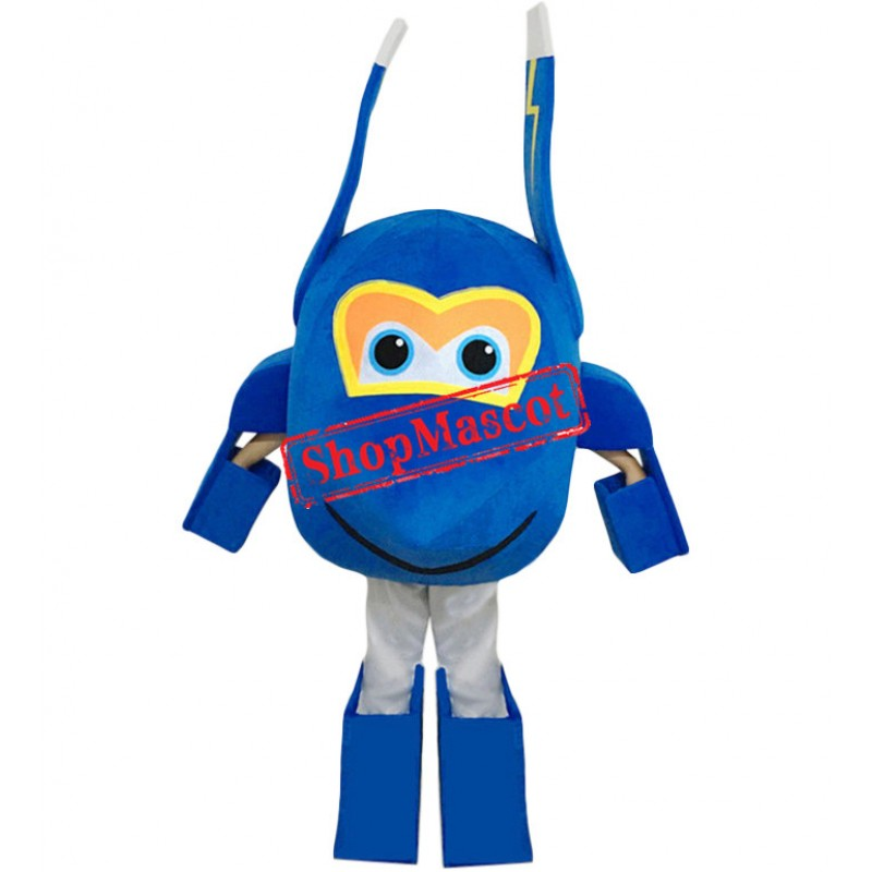 Super Wings Jerome Mascot Costume