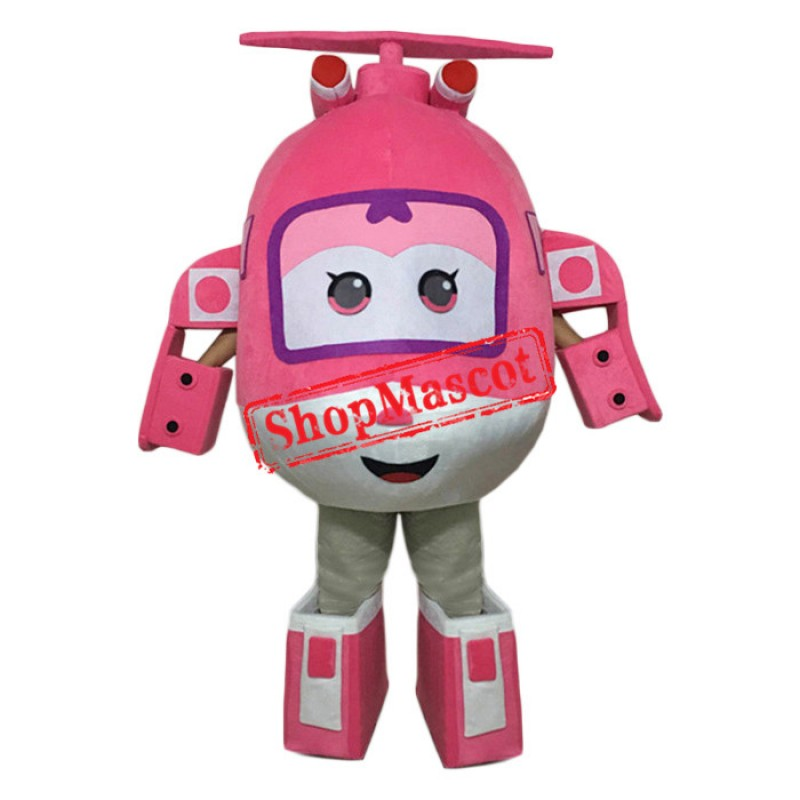 Super Wings Dizzy Mascot Costume
