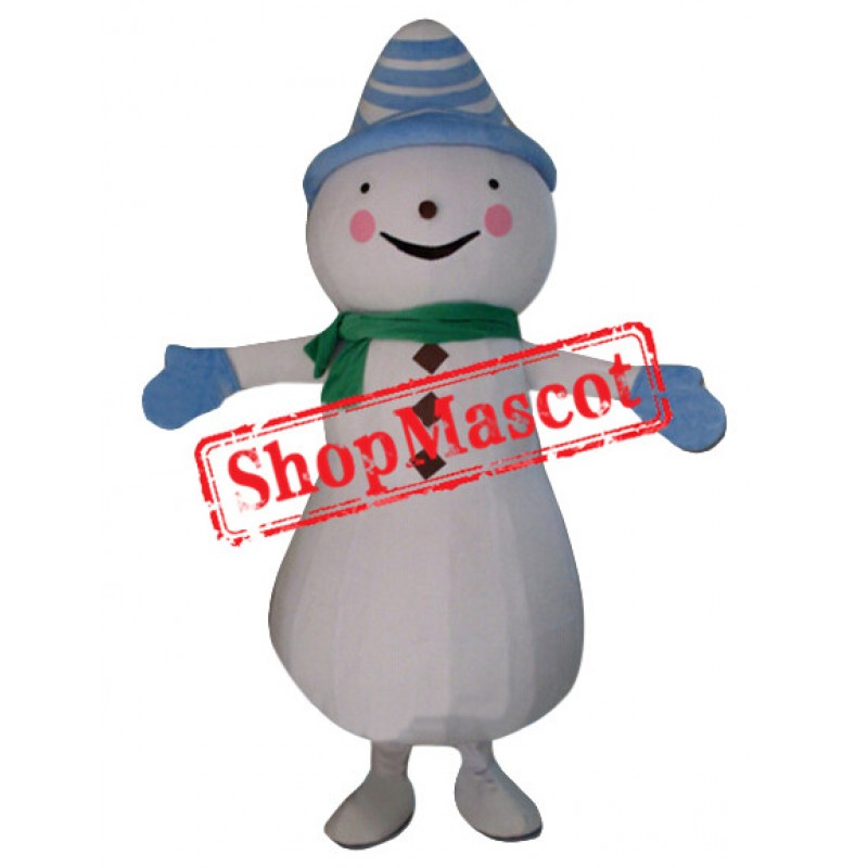Affordable New Snowman Mascot Costume