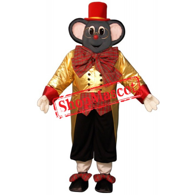 Superb Christmas Mouse Mascot Costume