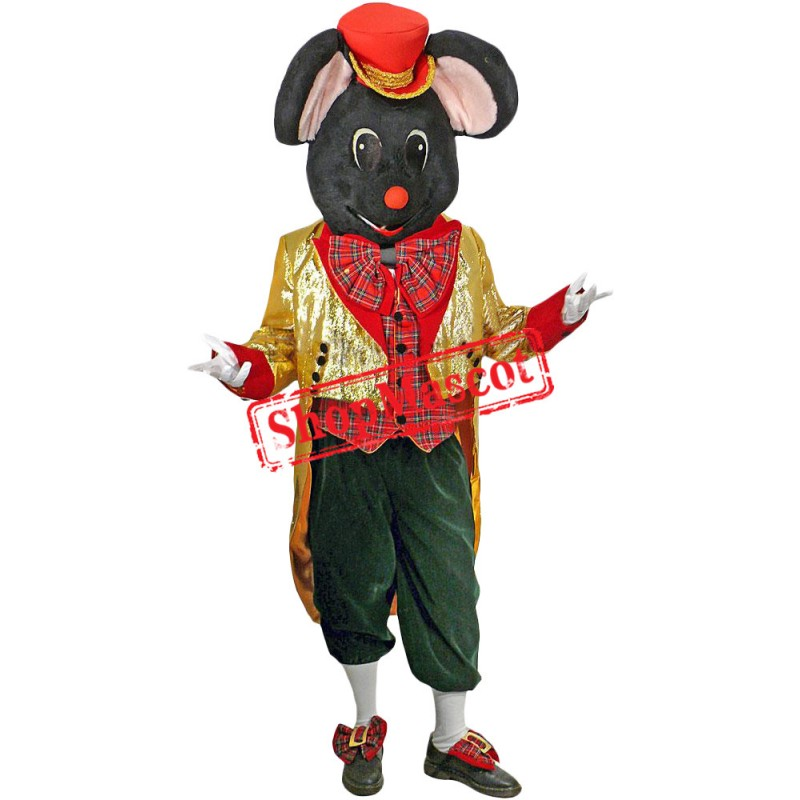 New Christmas Mouse Mascot Costume