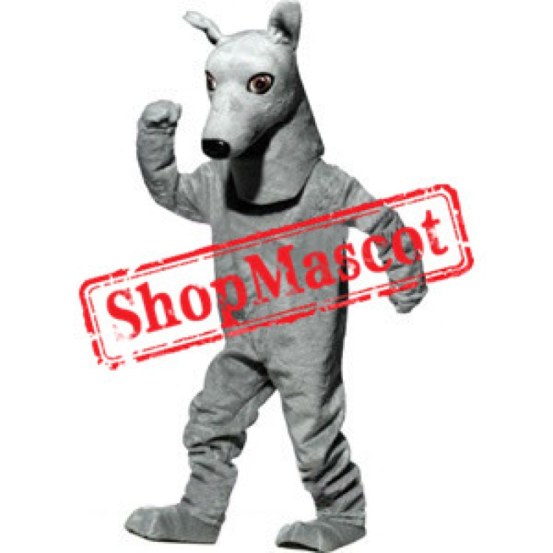 Smart Greyhound Mascot Costume