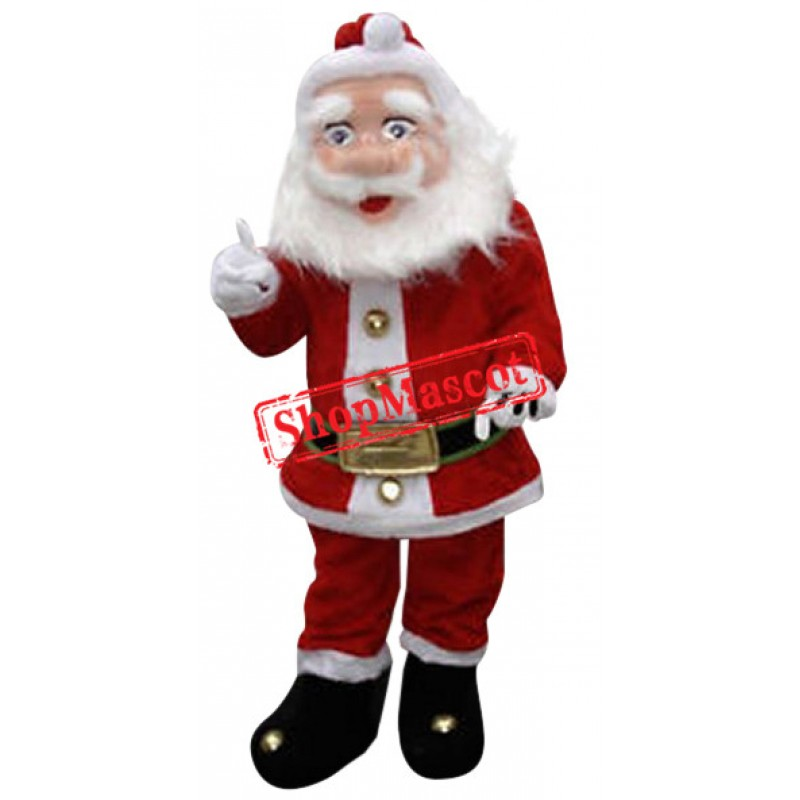 Superb Christmas Santa Claus Mascot Costume