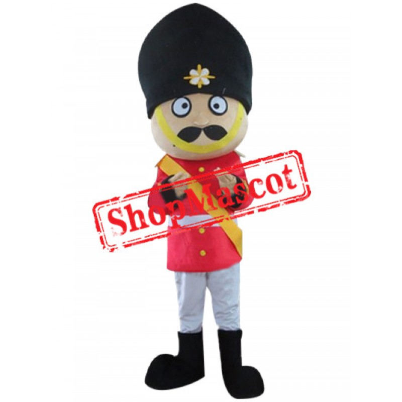 Superb Soldier Mascot Costume