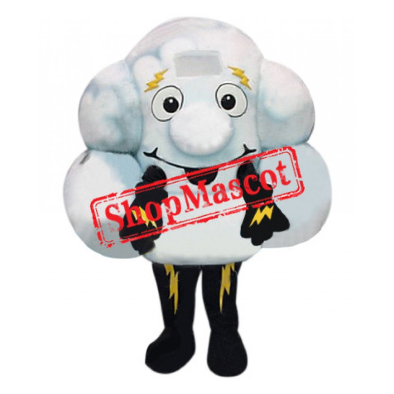 Lightning Cloud Mascot Costume