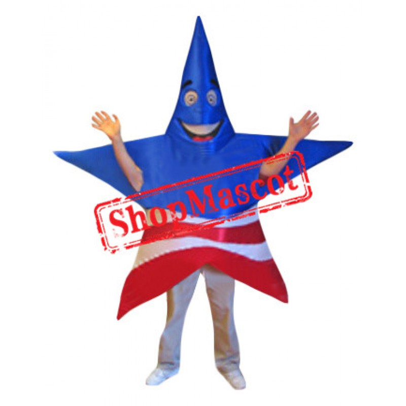 Patriot Star Mascot Costume