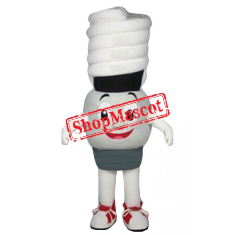 Electricity Saving Lamp Mascot Costume