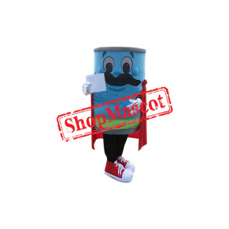 SuperCan Can Mascot Costume