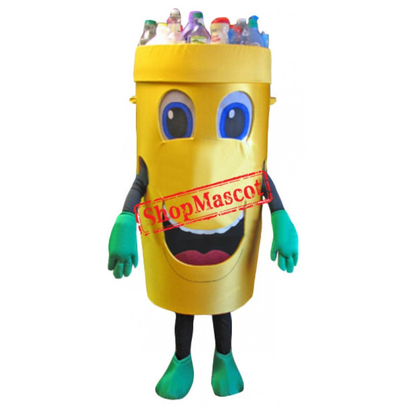 Recycle Can Mascot Costume