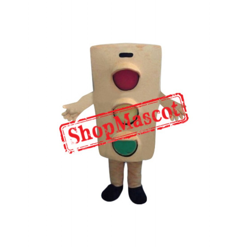 Superb Traffic Light Mascot Costume