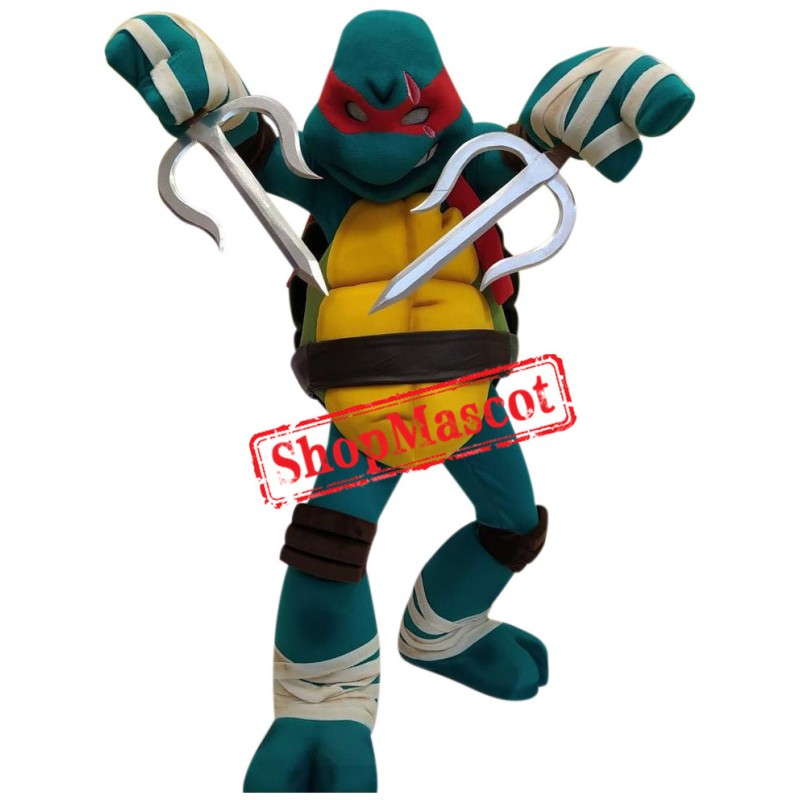 Superb Ninja Turtle Mascot Costume