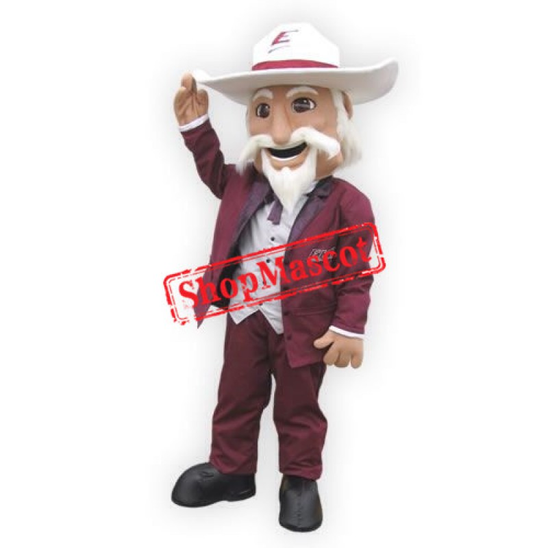 Superb Colonel Mascot Costume