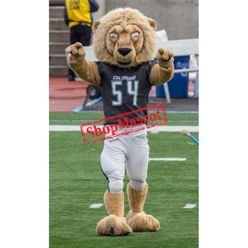 Power University Lion Mascot Costume