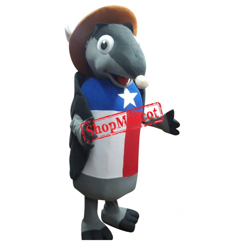 Texas Armadillo Mascot Costume