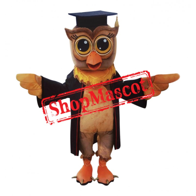 Superb Adult Owl Mascot Costume