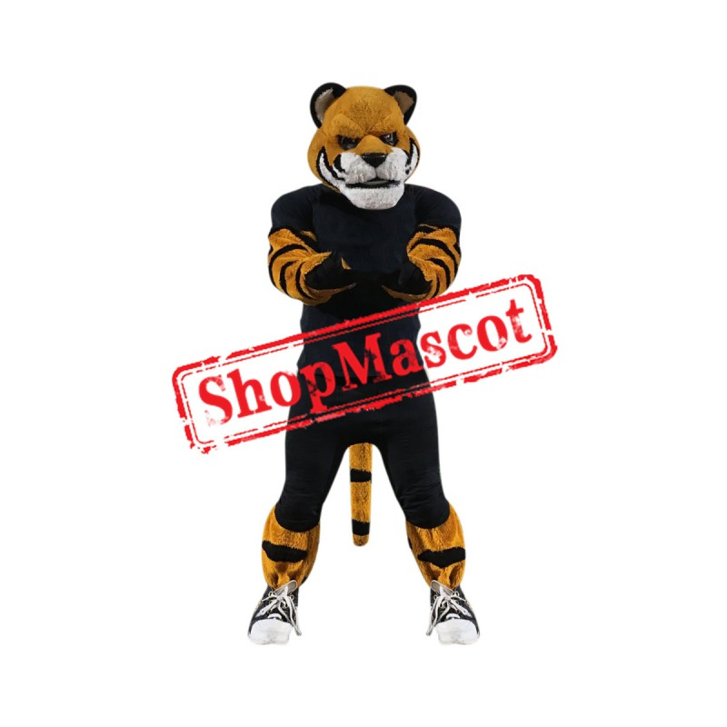 Power Sport Tiger Mascot Costume