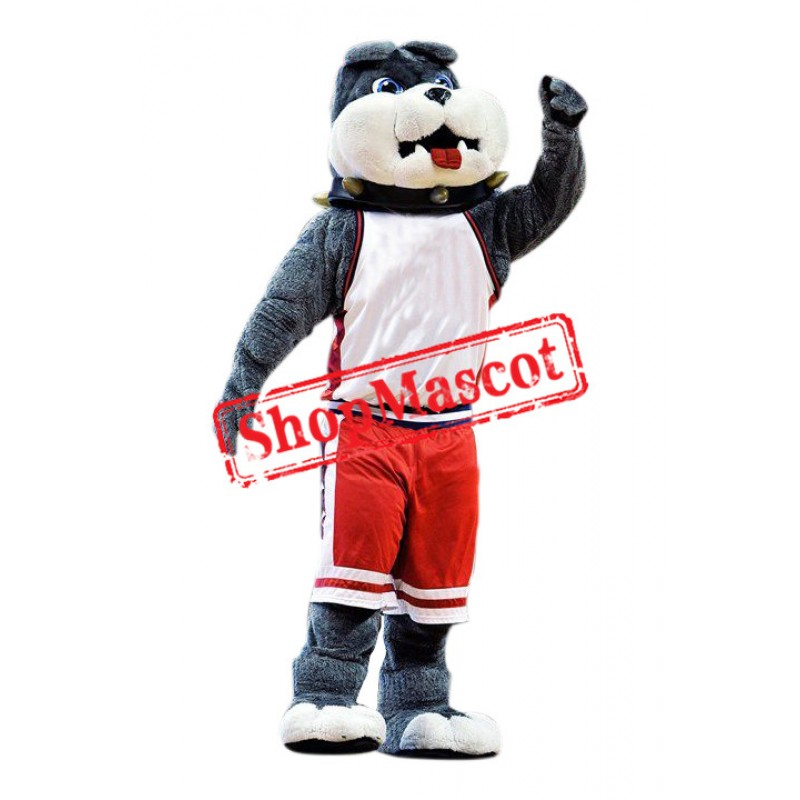 Superb Lovely Bulldog Mascot Costume