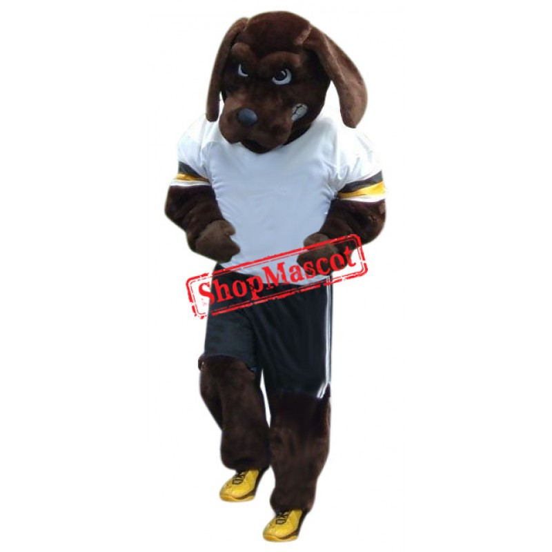 Superb Sport Dog Mascot Costume