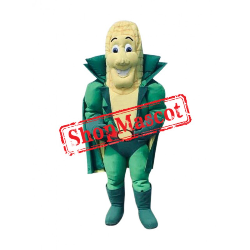 Captain Corn Mascot Costume