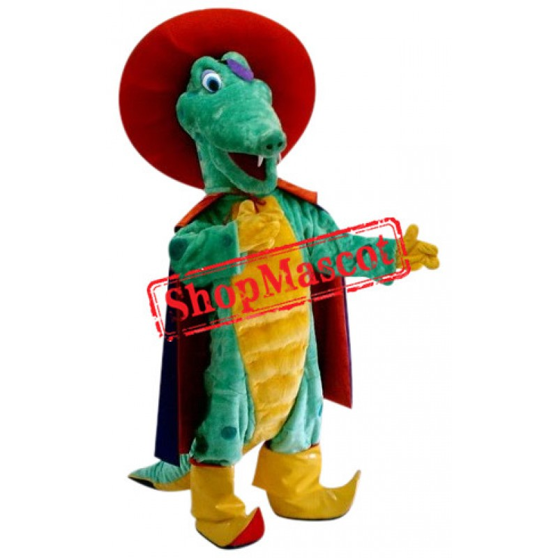 Funny Alligator Mascot Costume