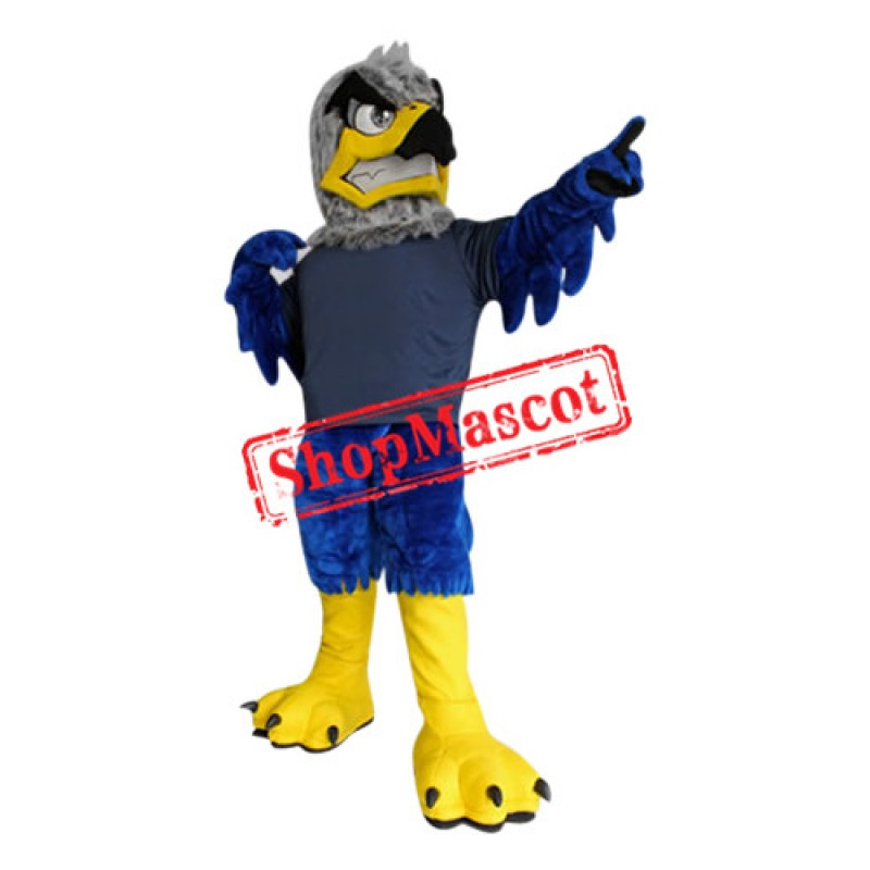Sport Blue Eagle Mascot Costume