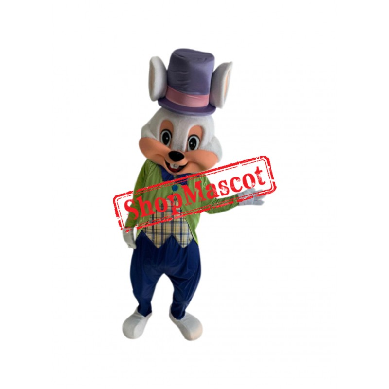 Superb Easter Bunny Mascot Costume