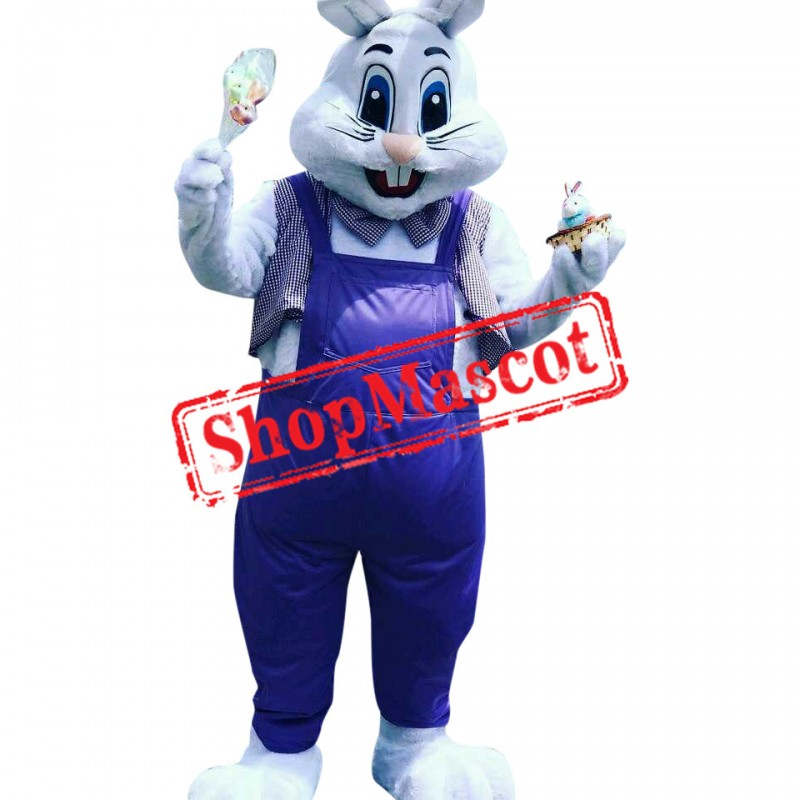 Superb Lightweight White Rabbit Mascot Costume