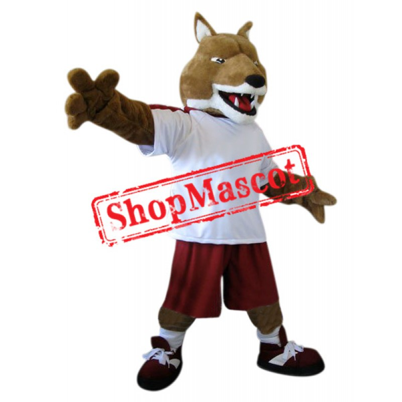 Superb Sport Fox Mascot Costume