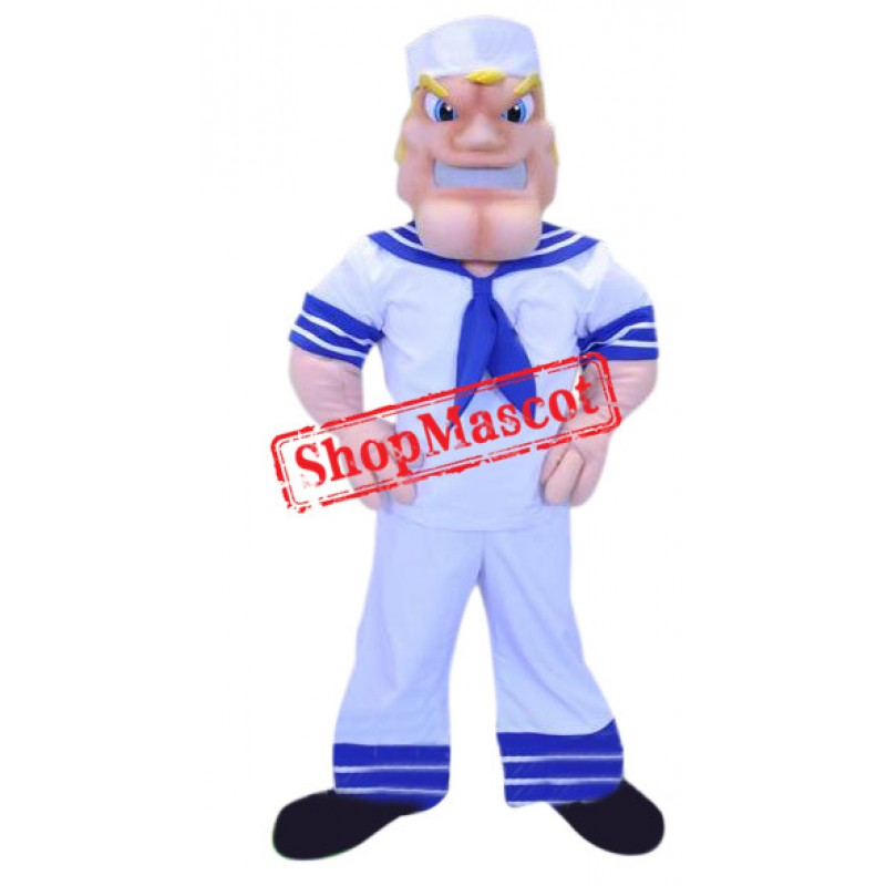 Navy Mariner Mascot Costume