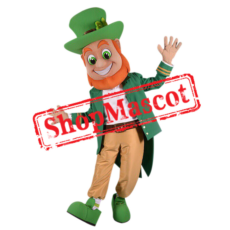 Superb Leprechaun Mascot Costume