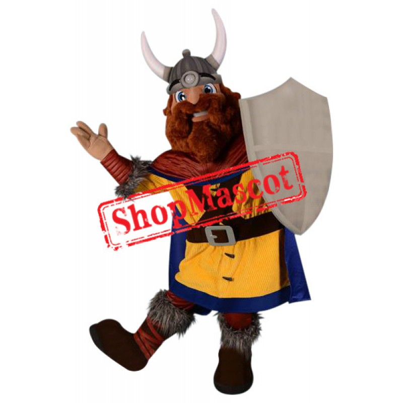 Superb Viking Mascot Costume