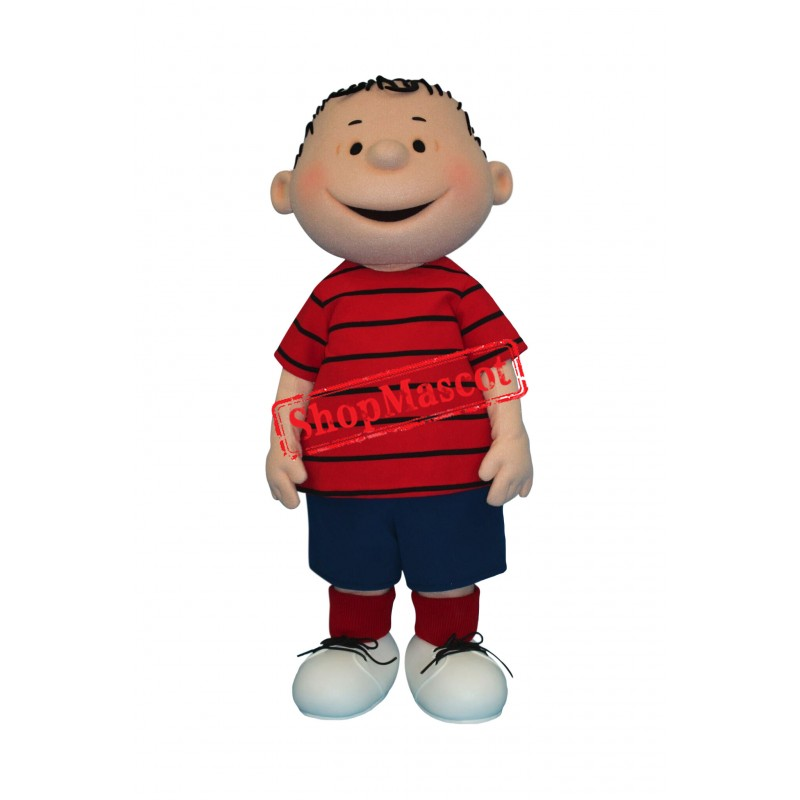Peppermint Patty Boy Mascot Costume