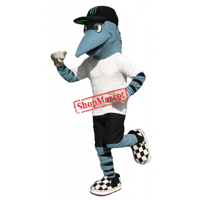 College Fish Mascot Costume