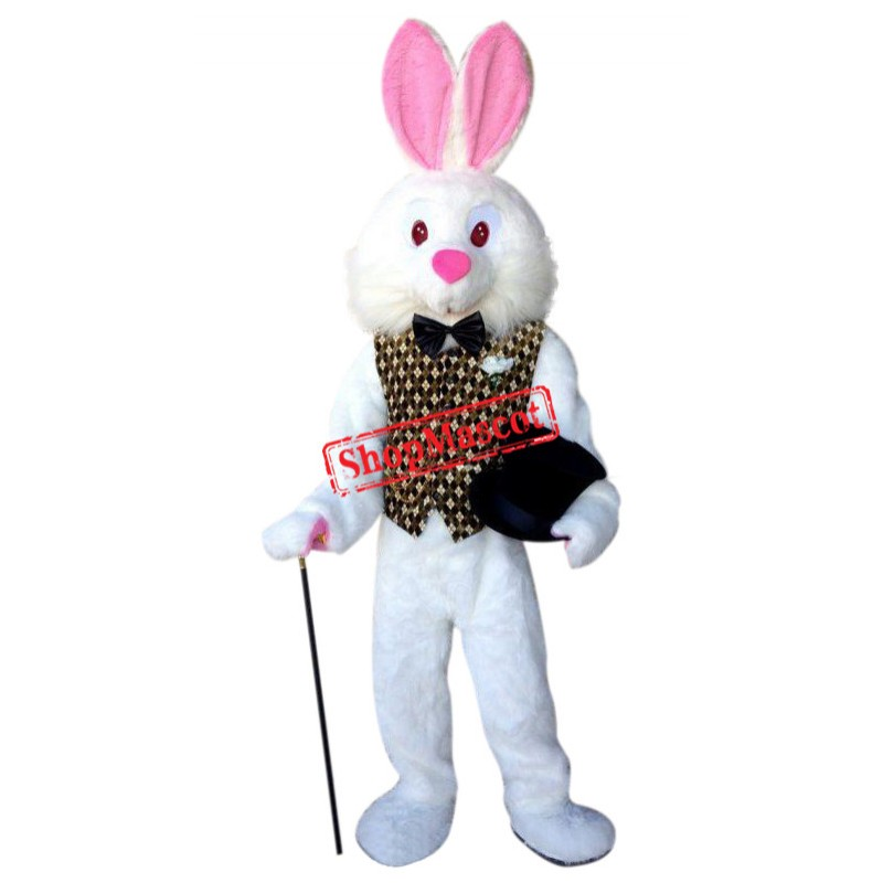 Superb Quality Easter Bunny Mascot Costume