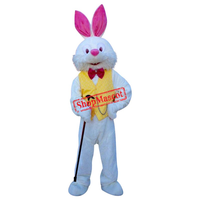 Deluxe Easter Bunny Mascot Costume