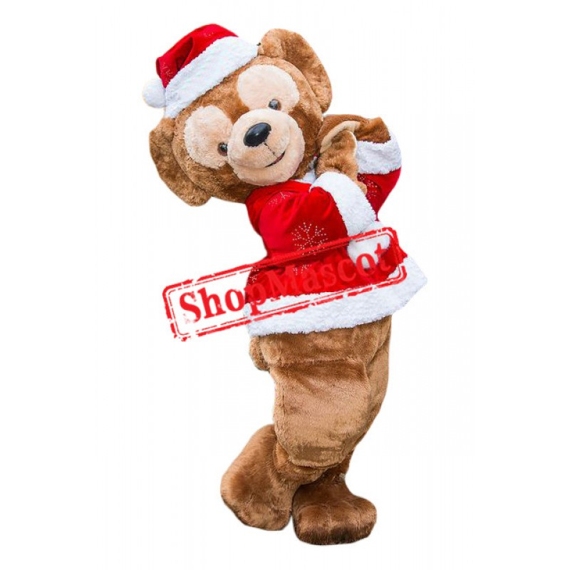 Christmas Monkey Mascot Costume