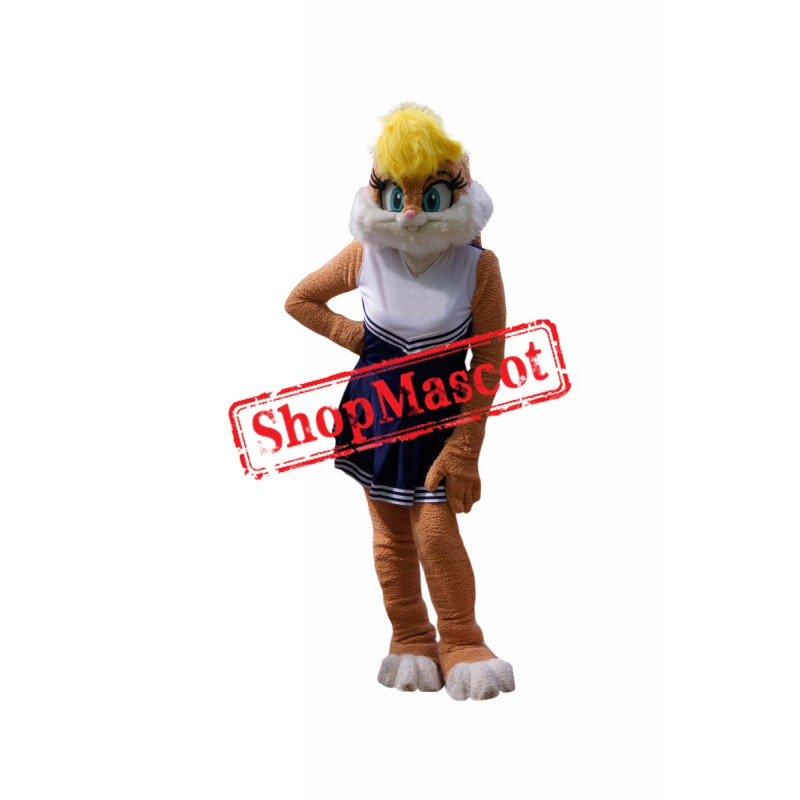 Superb Lola Bunny Mascot Costume