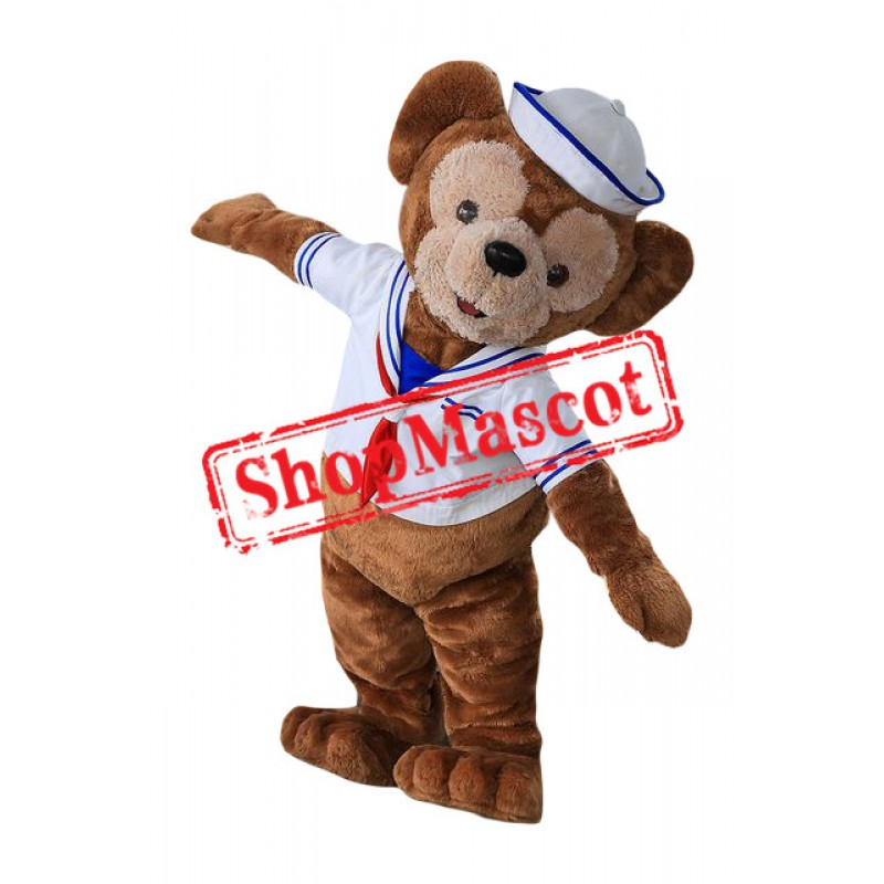 Navy Monkey Mascot Costume