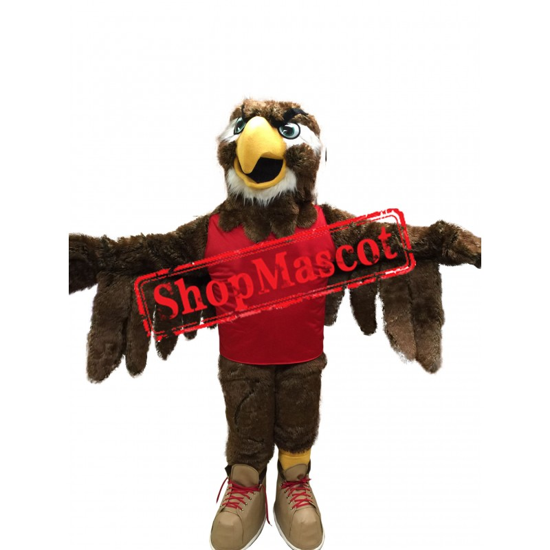 Sport School Hawk Mascot Costume