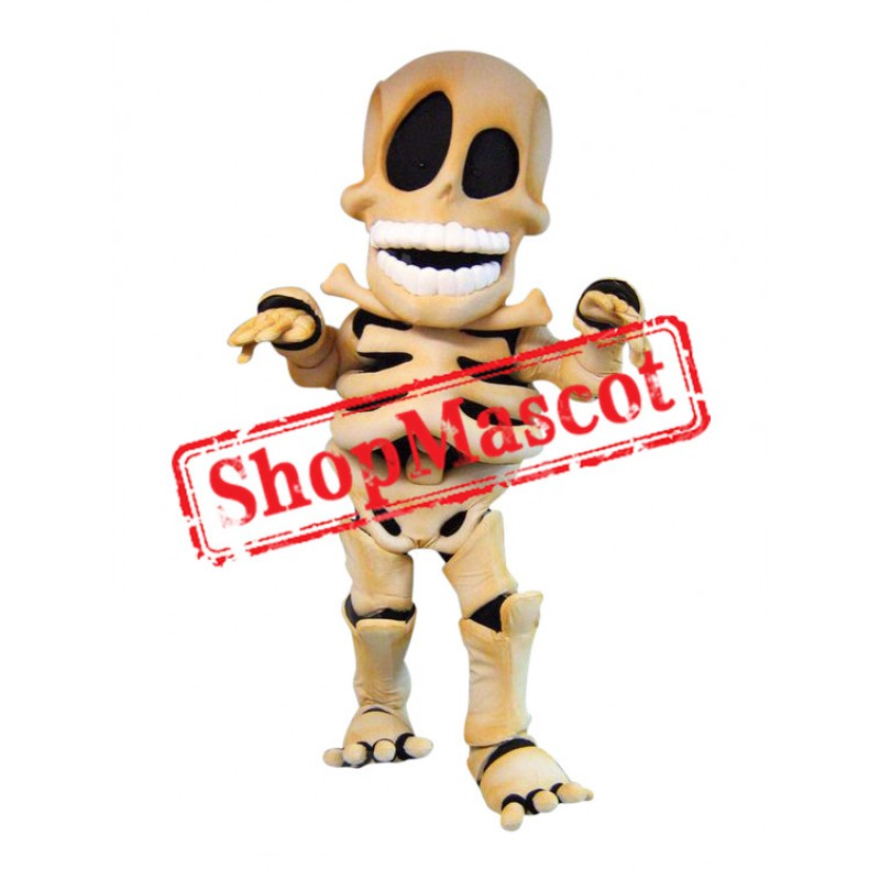 Skeleton Mascot Costume
