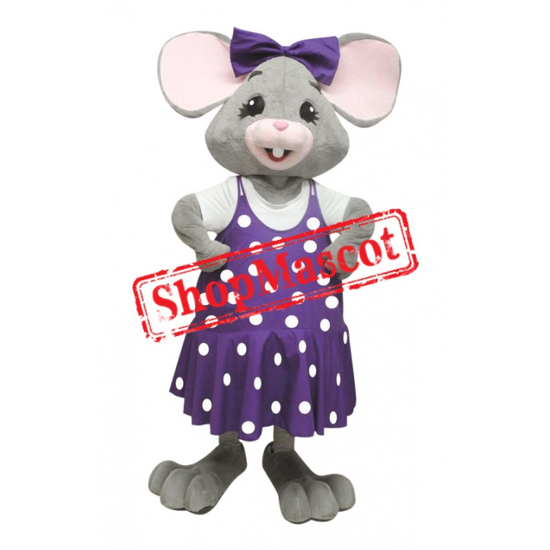 Beautiful Mouse Girl Mascot Costume