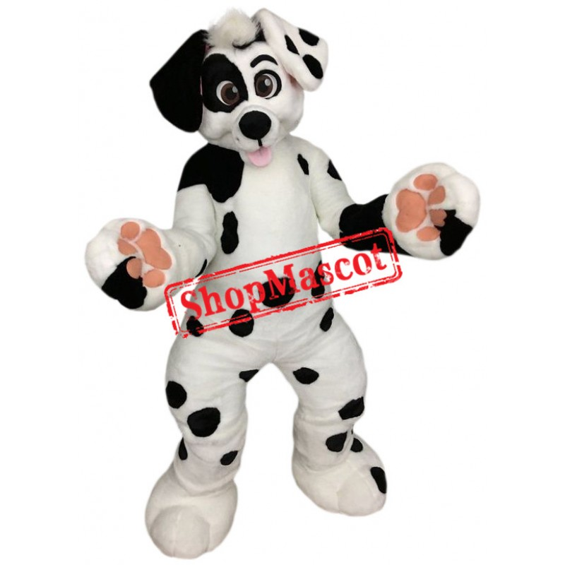 Superb Dalmatian Dog Mascot Costume
