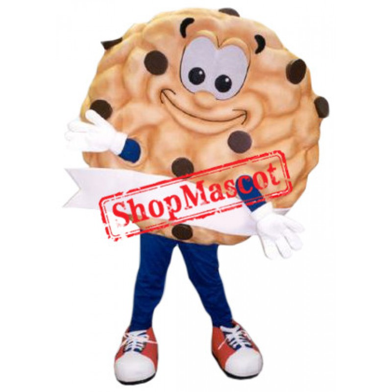 Happy Cookie Mascot Costume