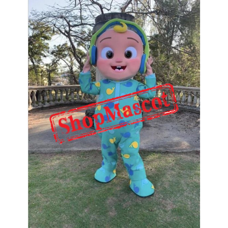 Happy Cocomelon Baby Boy Mascot Costume