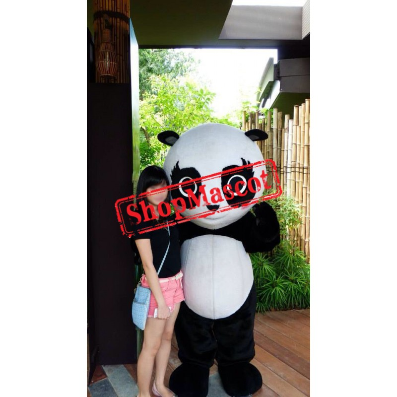 Super Cute Little Panda Mascot Costume