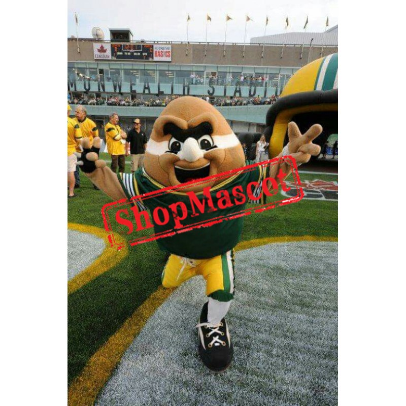 Power American Football Mascot Costume