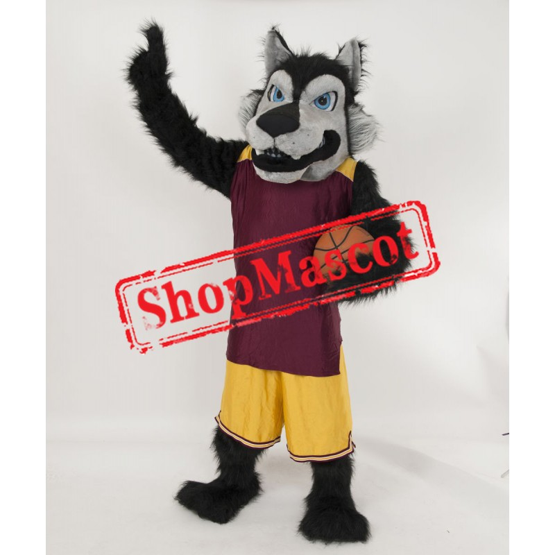 Power Sport Lightweight Wolf Mascot Costume